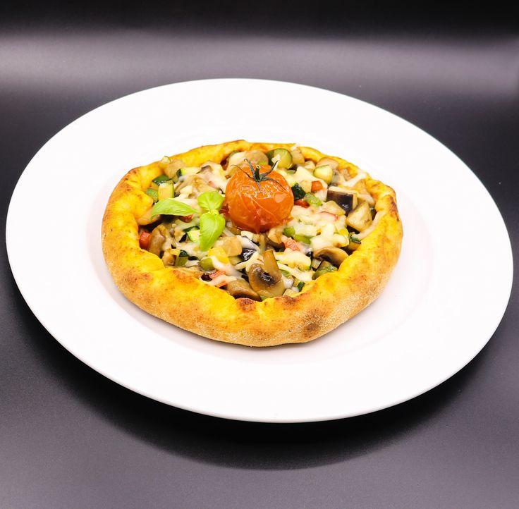 Pizza vegetariana   CHEFSbook