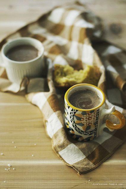 Hazelnut Hot Chocolate] hazelnuts, water, sugar, chocolate chips ...