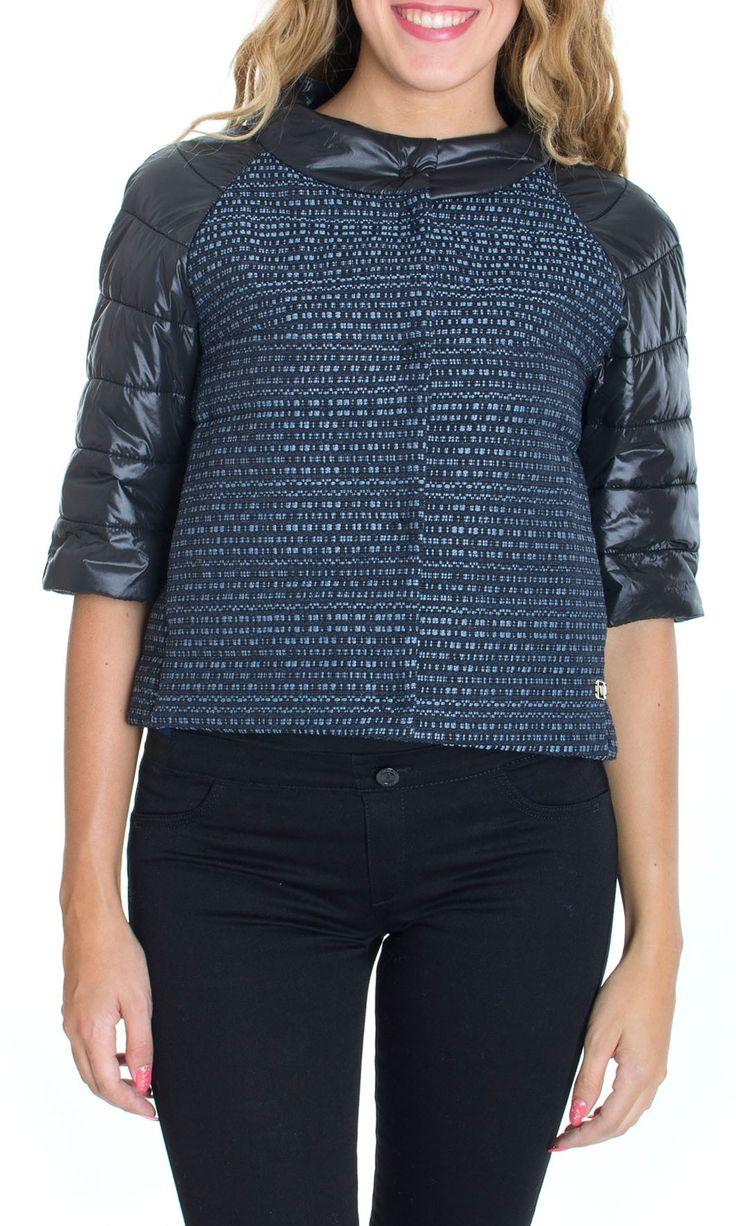 Trussardi Jeans | Piumino Trussardi Jeans Giubbino Donna Cappa Col. Nero - Shop Online su Dursoboutique.com 56S58