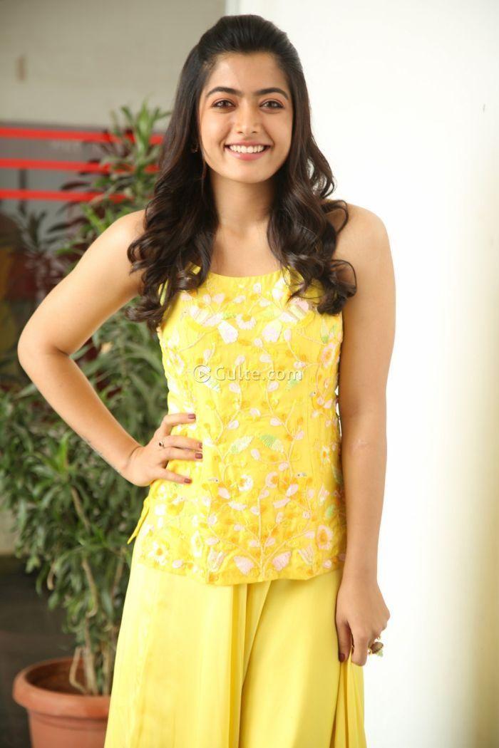 Rashmika Mandanna At Bheeshma Promotions In 2020 Fashion Beauty Full Girl Lily Pulitzer Dress