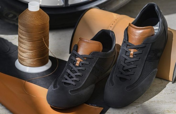 Meet The Ultimate Luxury Sneaker Created By Aston Martin And Hogan  ➤ Discover more luxury lifestyle news at www.covetedition.com @covetedition #covetedmagazine @covetedmagazine #luxurylifestyle #astonmartin #hogan #luxurysneakers @astonmartin