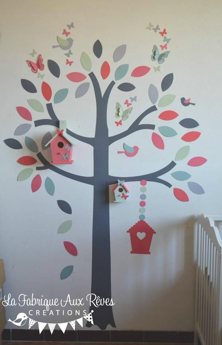 les 25 meilleures id es de la cat gorie stickers arbre sur pinterest chambre de b b. Black Bedroom Furniture Sets. Home Design Ideas