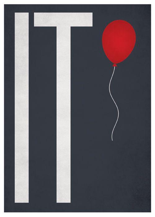 IT - minimalist horror poster