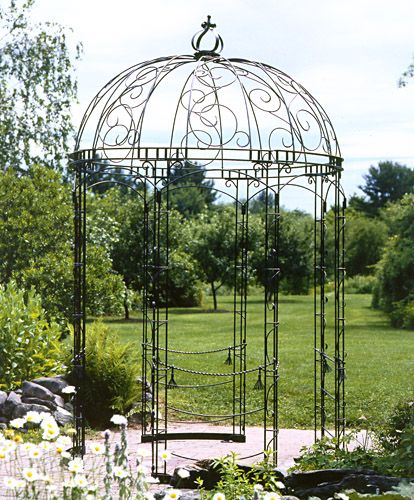 25 best ideas about gloriette fer forg on pinterest - Kiosque de jardin en fer forge ...