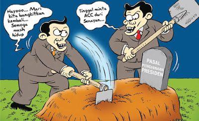 Mice Cartoon, Kontan - April 2016: Menunggu ACC SEnayan