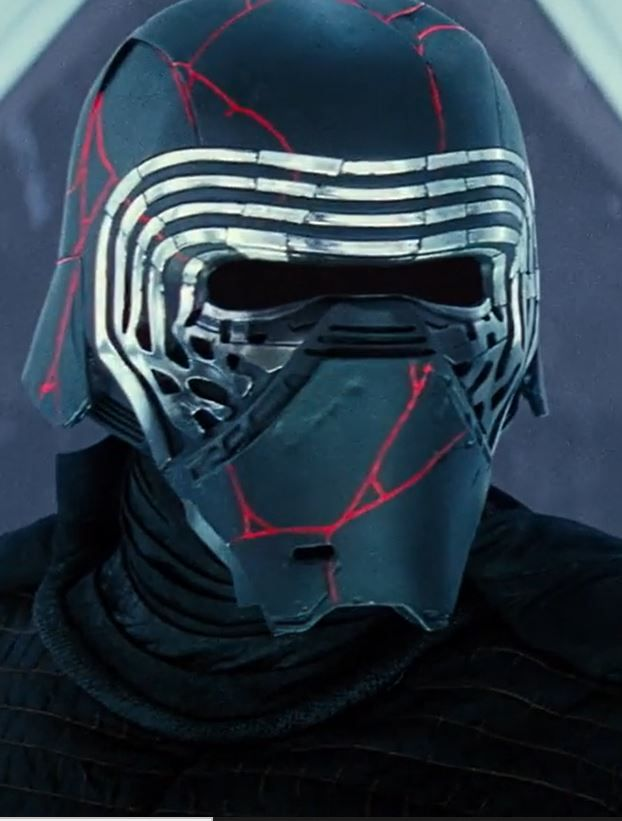 Kylo Ren And His Remade Helmet In The Rise Of Skywalker Star