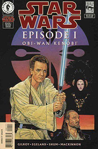 Star Wars: Episode I Obi-Wan Kenobi #1 VF/NM ; Dark Horse comic book //Price: $2.99 & FREE Shipping //     #starwarscollection