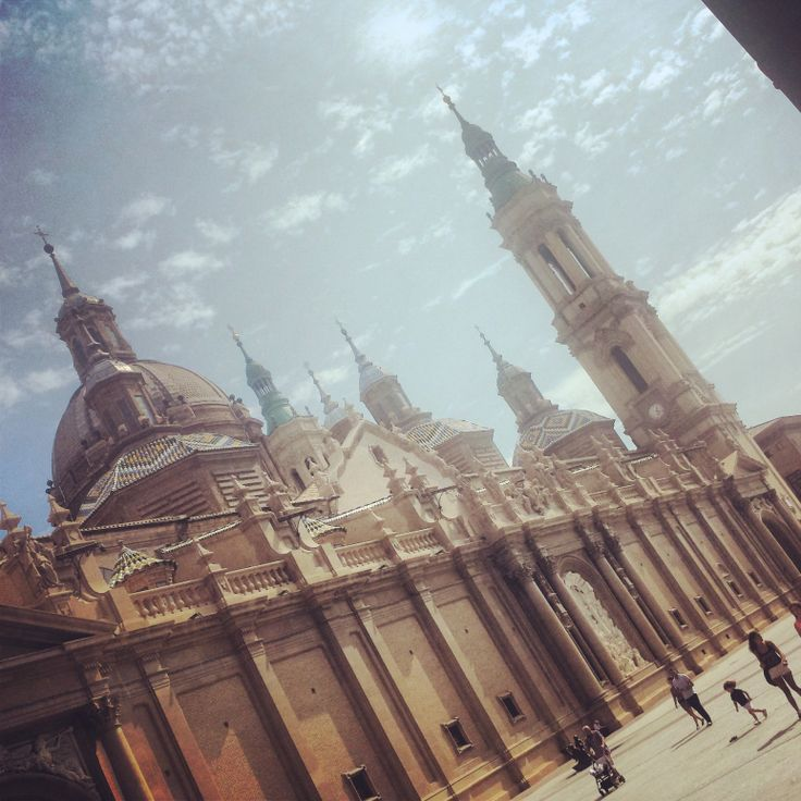 Zaragoza- monumental cathedral within a cathedral within a...