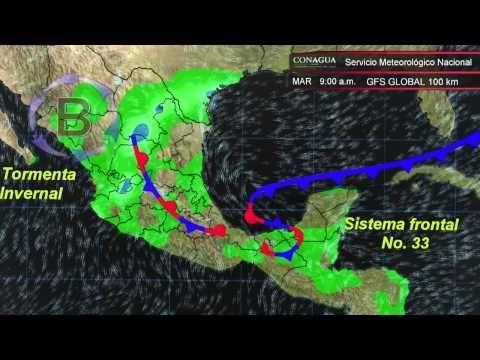Frente No. 33, la Quinta Tormenta Invernal en el Golfo de México - http://notimundo.com.mx/mexico/frente-no-33-la-quinta-tormenta-invernal-en-el-golfo-de-mexico/29087