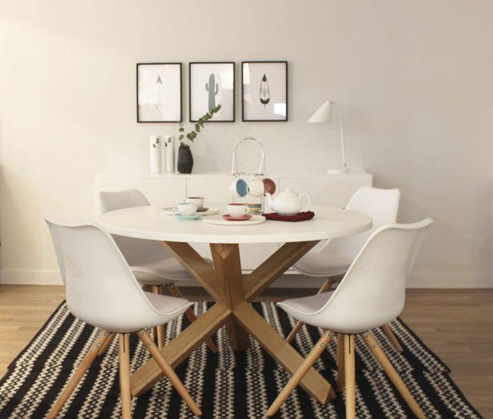 M s de 25 ideas incre bles sobre mesas redondas en for Comedores circulares modernos