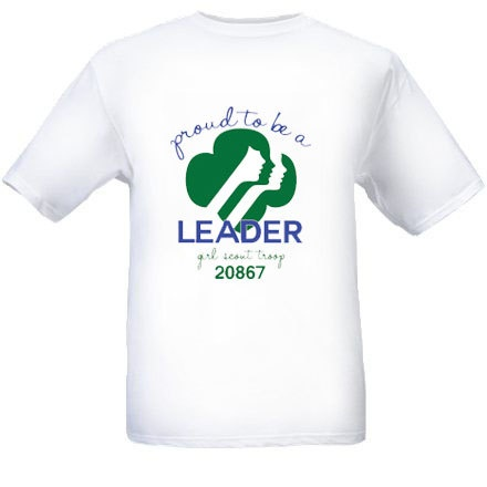 girl scout leader shirts