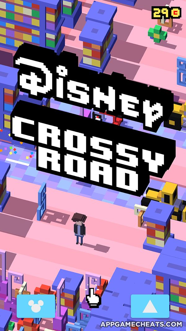 Disney Crossy Road Hack, Cheats, & Tips for Gold Coins & All Characters…