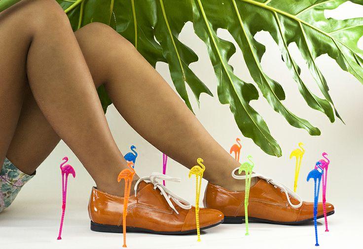 Orange Shoes www.sericote.com