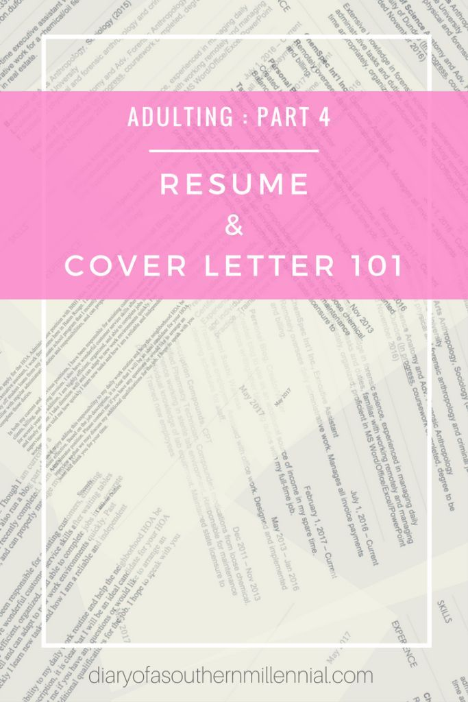 With the overwhelming amount of info on how to create a resume and cover letter, here's your ultimate source to do both! Resume and cover letter 101.