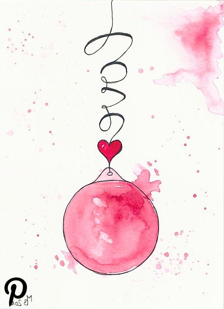 Weihnachtskarten Selber Machen Lettering Weihnachtskarten