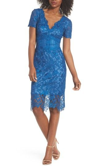b5ae9951d55 TADASHI SHOJI CARTER LACE SHEATH DRESS.  tadashishoji  cloth ...