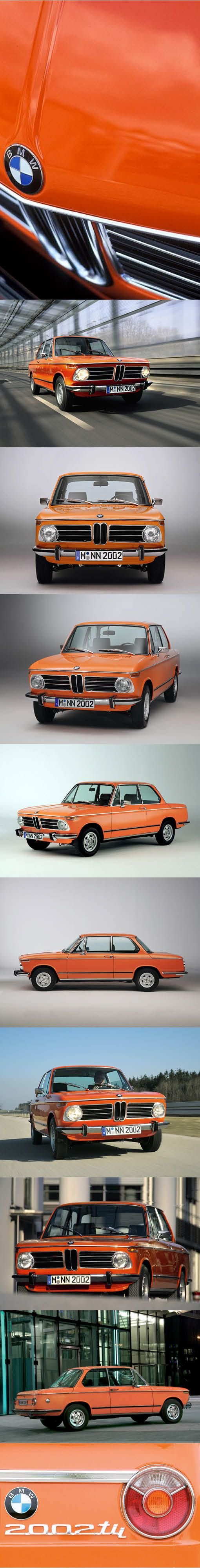 1968 BMW 2002 / Germany / orange