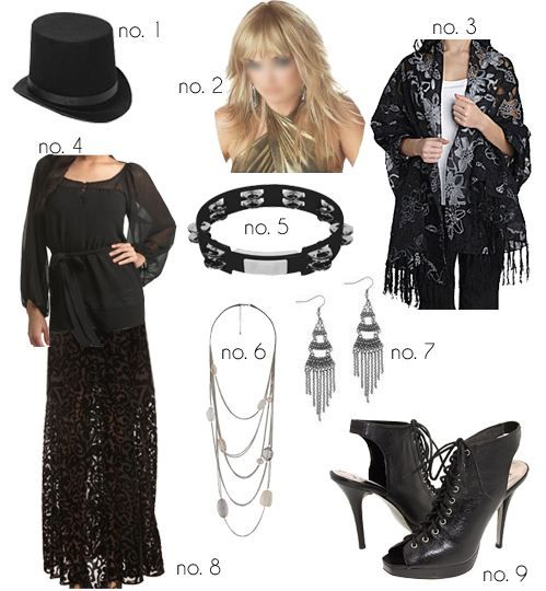 What the Frock? - Affordable Fashion Tips, Celebrity Looks for Less: Stevie Nicks Halloween Costume