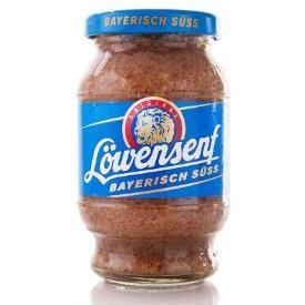 Löwensenf Bayrisch Süsser Senf (Bavarian sweet mustard) 250ml