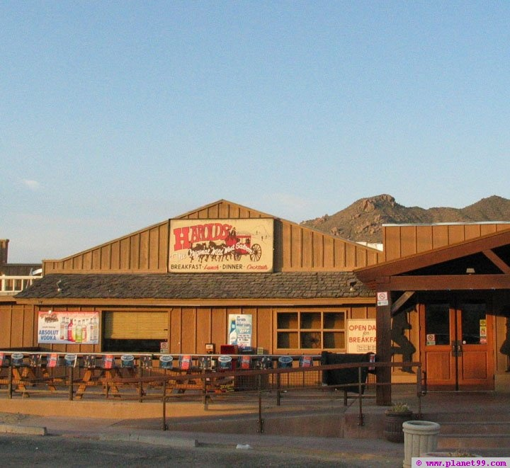 Harold's Cave Creek Corral , Cave Creek, AZ.  My favorite Steelers bar in the desert! Miss this place!