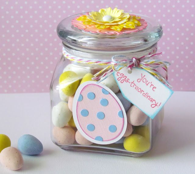 82 best spring easter sweets images on pinterest rabbit simple easter candy jar negle Gallery