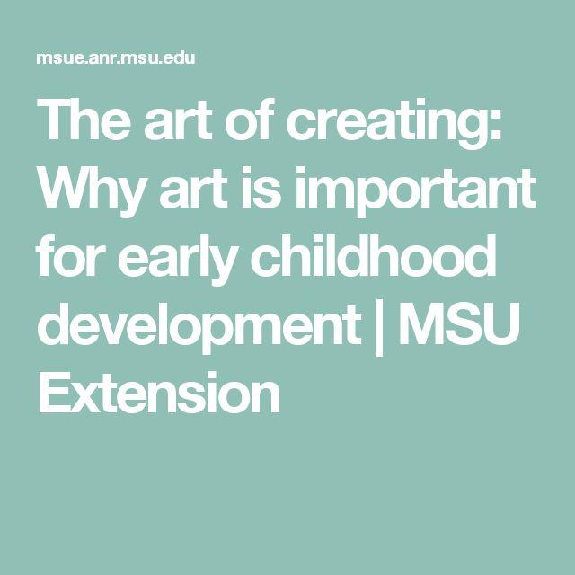 importance of early childhood development pdf