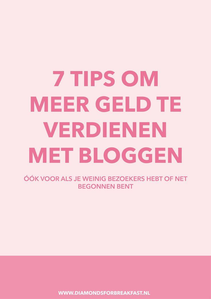Wil je (meer) geld verdienen met bloggen, maar weet je niet precies hoe of denk je dat je te weinig bezoekers hebt? Deze 7 tips helpen je om meer inkomsten uit je blog te halen, óók als je nog een kleine blogger bent.