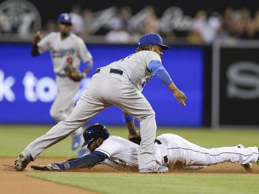 Grandal, Padres beat Dodgers 3-2 in 12 - USA TODAY #Grandal, #Padres, #Dodgers