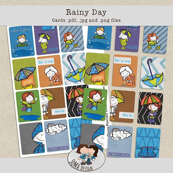 SoMa Design: Rainy Day - Cards