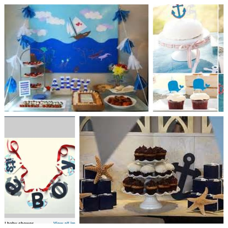 25 Best Nautical Wallpaper Ideas On Pinterest: Nautical Baby Shower Theme