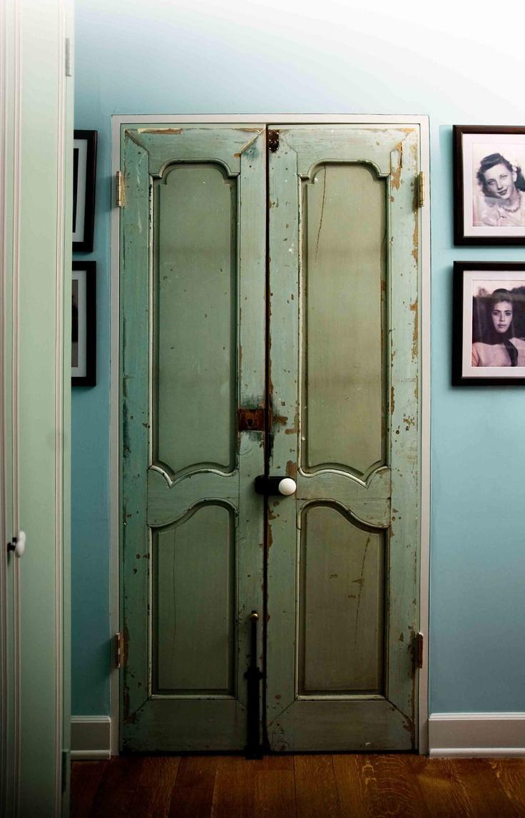 bedroom ideas on pinterest french doors mirrored closet doors and