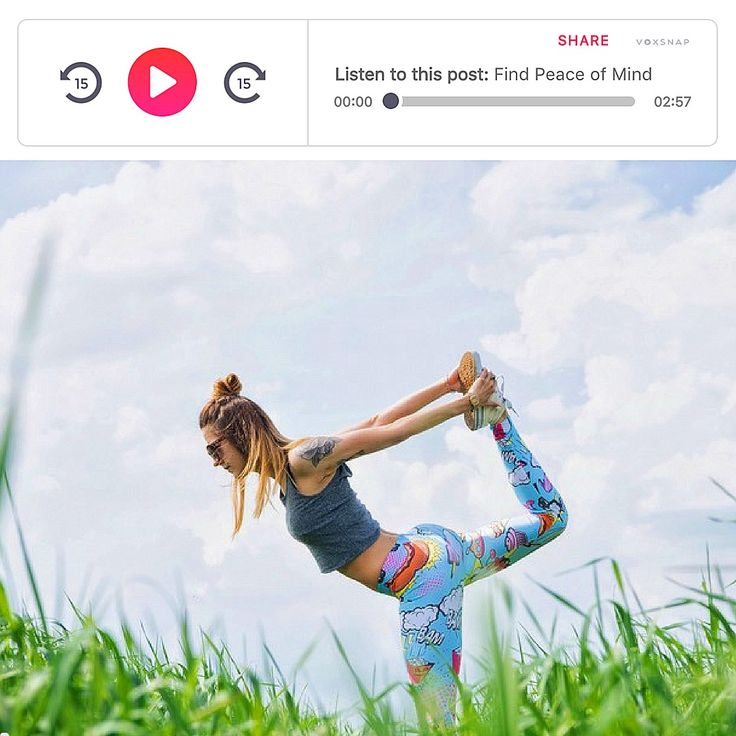 Learn How to Find Peace of Mind Through Fitness by listening to this post by GoTime! Often times being healthy and staying fit is viewed as something we HAVE to do, but health and fitness can bring great joy into your life. Learn the tips to bring peace into your life through fitness by listening to the rest at: https://gotime.co/blog/2017/01/06/find-peace-mind-fitness/