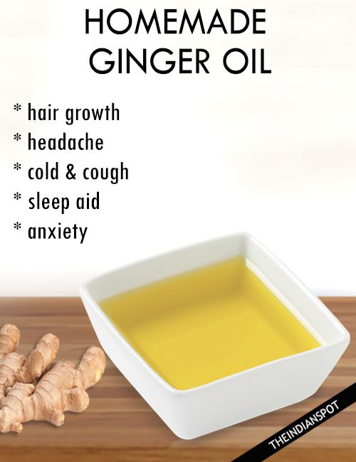 HOW TO MAKE GINGER OIL AND BENEFITS