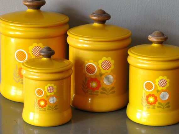 pinterest canister sets vintage canisters and kitchen canister sets