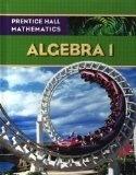 Prentice Hall Mathematics, Algebra 1 Textbook, cheap textbooks