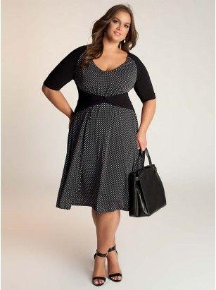 Kinsley Plus Size Dress by IGIGI by Yuliya Raquel Designer Plus Size Clothing in sizes 12-32