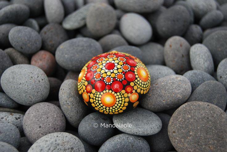 Image of Summer Mandala Stone 17