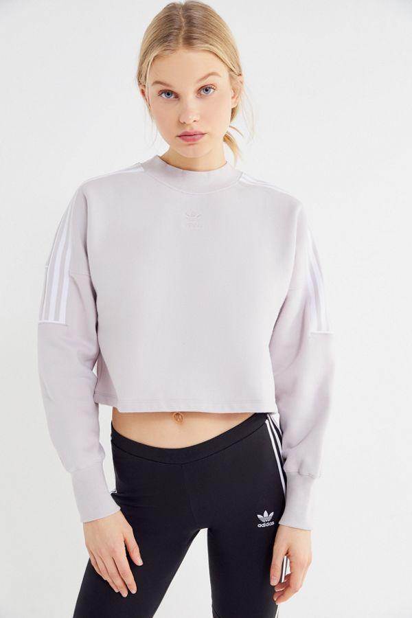 80bdc4212f2 adidas Winter Ease Cropped Sweatshirt | cool stuff | Sweatshirts ...