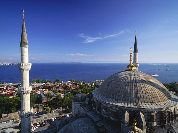 Sultanahmet view by National Geopgraphic, Istanbul