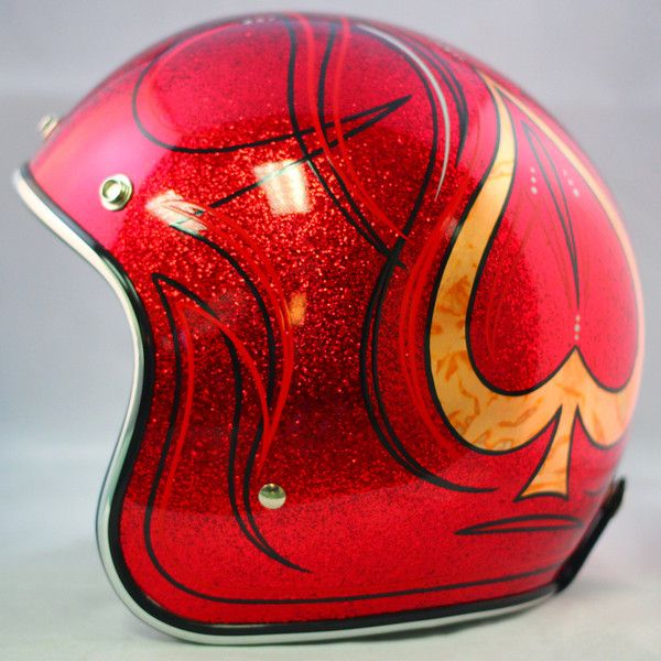 Custom painted Biltwell helmet.  $299 Available at www.crownhelmets.co  For more pics: http://sqi.sh/g8k