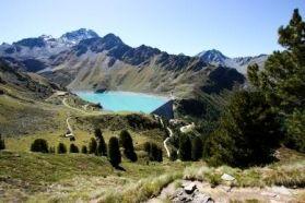Die Staumauer von Cleuson :: Nendaz :: Tourisme :: Valais :: Suisse