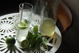 foodbyjessica: This Week's Recipe: Lime and Mint Cordial