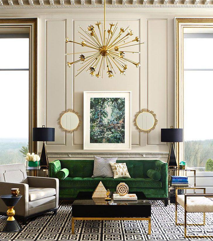Stil Ar Deko Art Deko Roskosh S Ekzoticheskimi Motivami Pufik Blog O Dizajne Interera Art Deco Living Room Interior Deco Living Room Interior