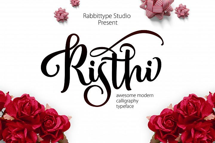 RISTHI Script from FontBundles.net
