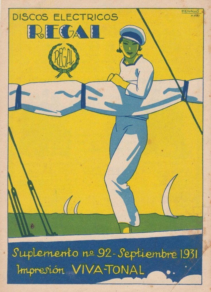 REGAL supplemento N° 92 1931 09