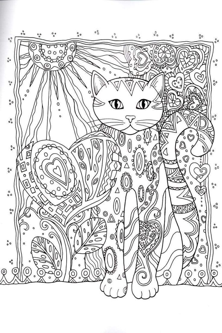 zen colouring cats : Cats Creative Haven Creative Cats Dover Publications Coloring