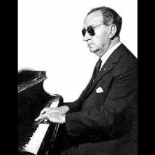 Although being blind, Rodrigo was a master pianist.