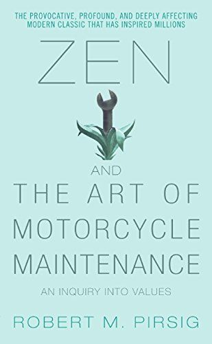 Michael picked up Zen and the Art of Motorcycle Maintenance - Kindle edition by Robert M. Pirsig. Religion & Spirituality Kindle eBooks @ Amazon.com.