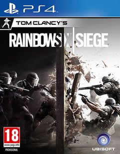 Tom Clancy's Rainbow Six: Siege  PlayStation 4 Cover Art