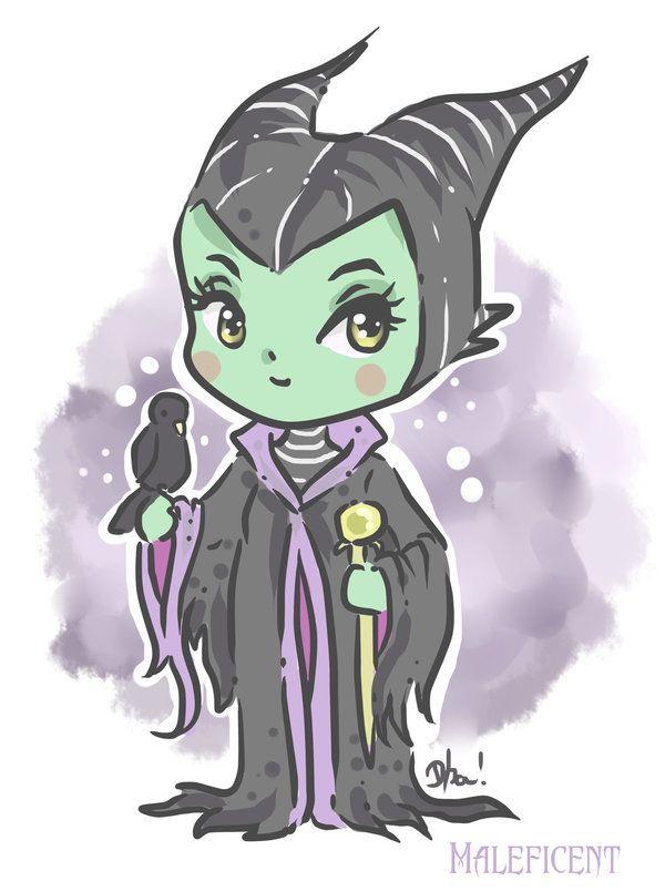 Maleficent by Dharilya on deviantART